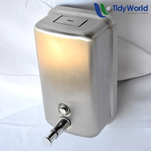 Stainless Steel Soap Dispenser Tidy World