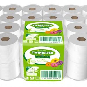 Toilet-paper twinsaver