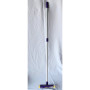 Complete window washer,  sponge and squeegee with 1.1 m metal handle.