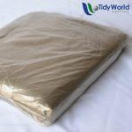Plastic smokey refuse bags