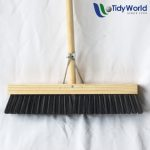 Soft brisstle platform broom