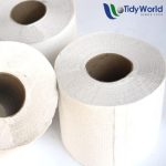 Twinsaver 1-ply toilet paper