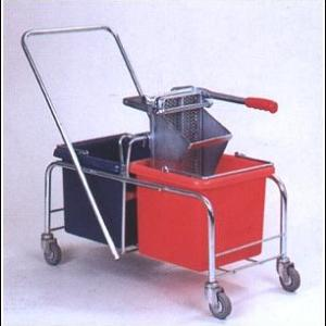 Rhino Double Bucket Trolley