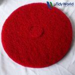 Red floor pad